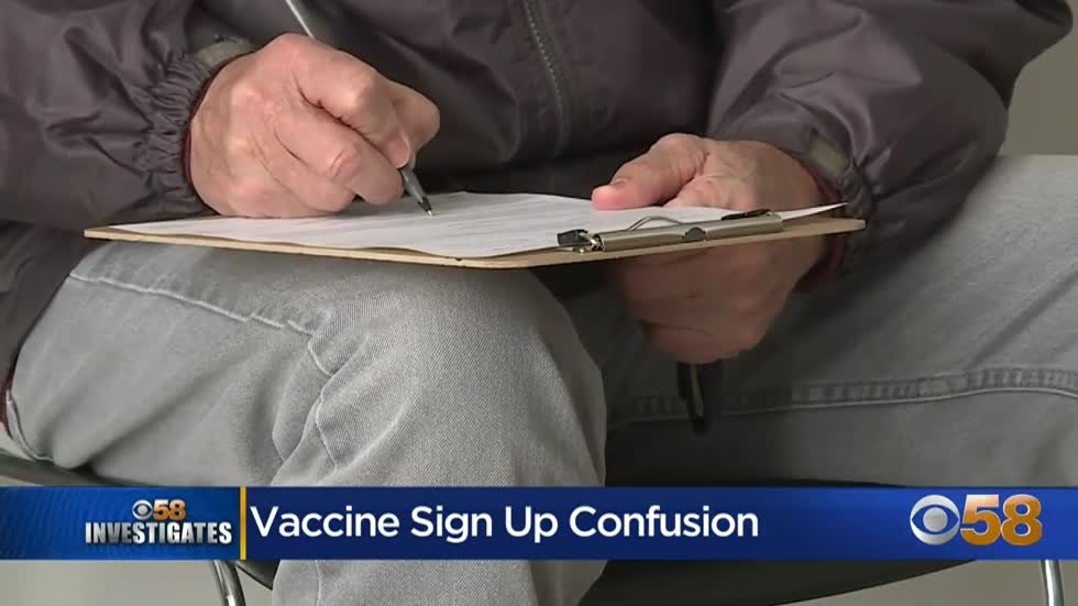 CBS 58 Investigates: Elderly, those without internet, struggle to sign up for COVID-19 vaccine