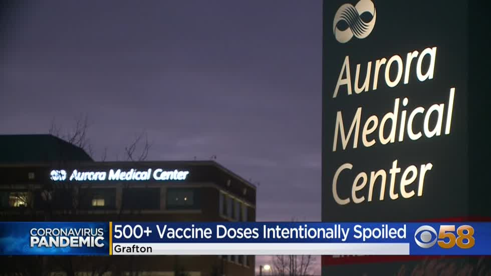 Pharmacist arrested, accused of intentionally tampering with COVID-19 vaccines