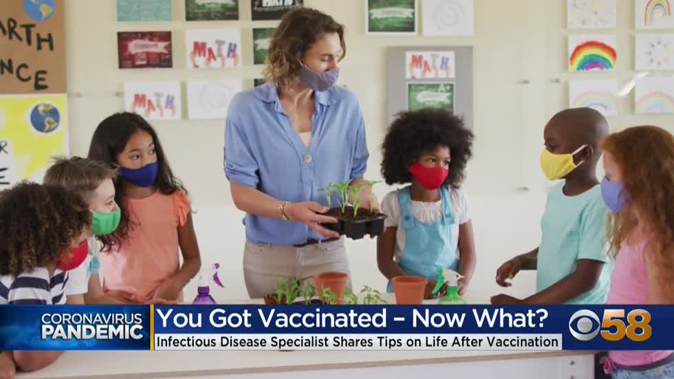 Infectious disease specialist: What to do after getting vaccinated