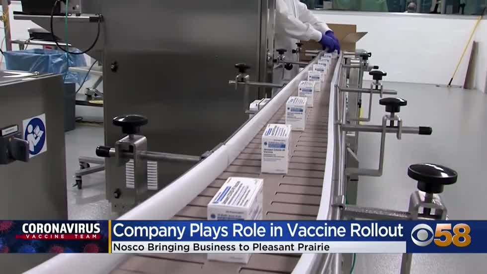 Company involved in vaccine supply chain moves HQ from Illinois...