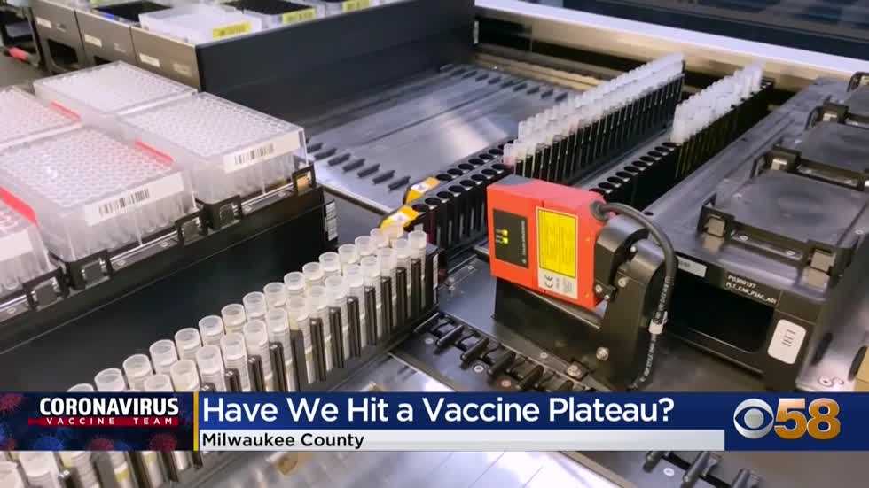 Milwaukee County COVID vaccinations fall for 3 straight weeks