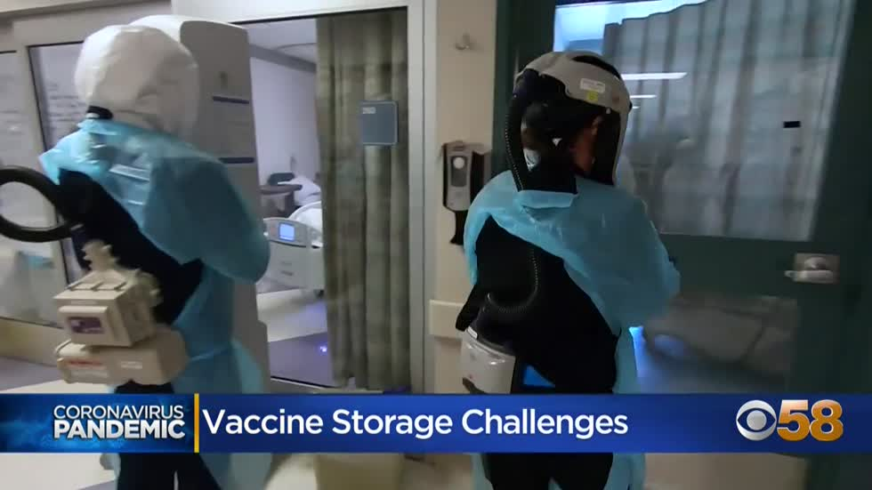 State medical officials lay out guidelines for proper storage and application of Pfizer vaccine