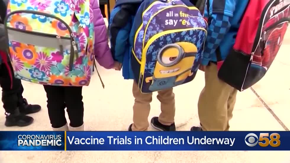 Moderna expands vaccine trials to young kids