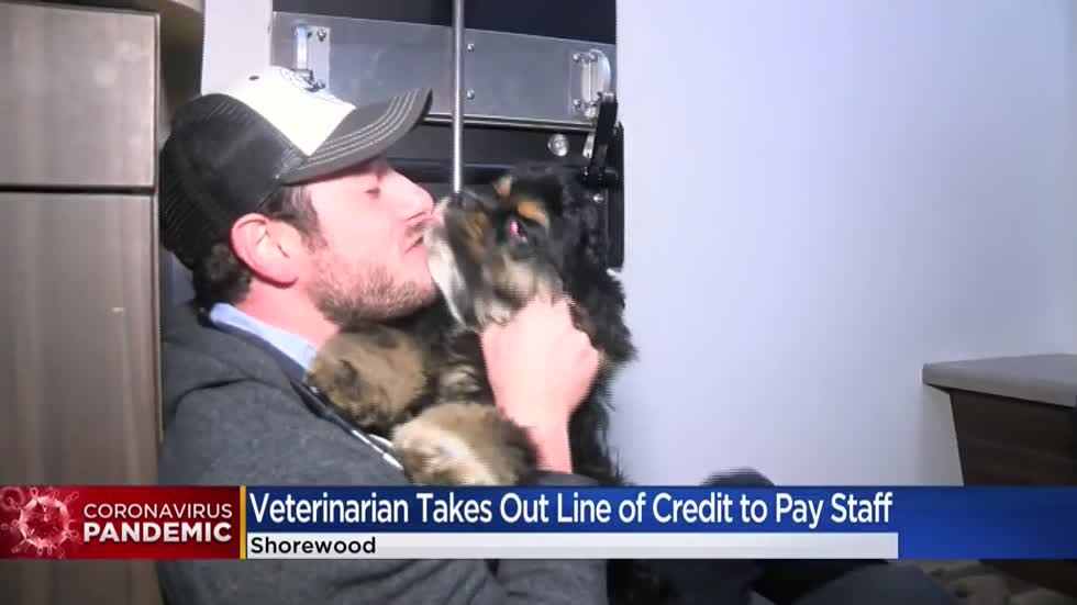 'Clinic crew are family:' Local veterinarian takes out home equity loan to pay staff