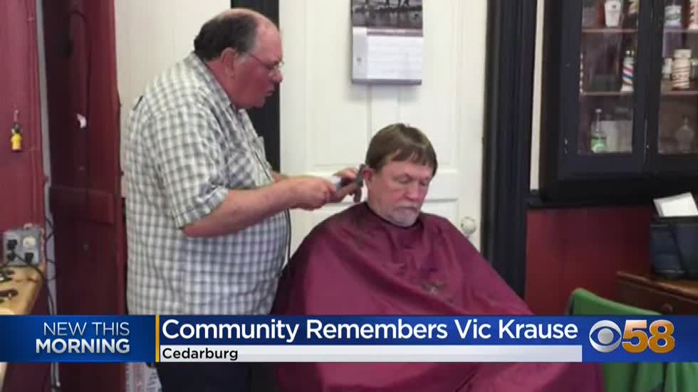 Vic the Barber, a Cedarburg 'fixture,' dies of COVID