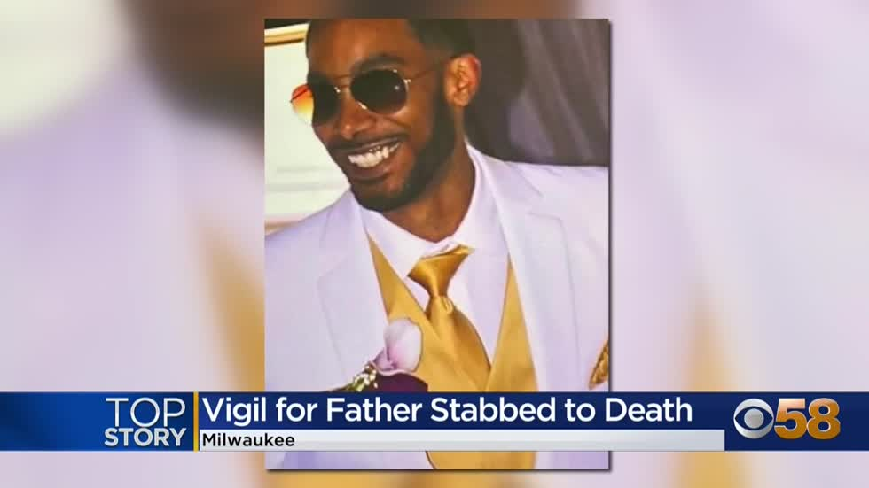 Family holds vigil for fatal stabbing victim, man charged with...
