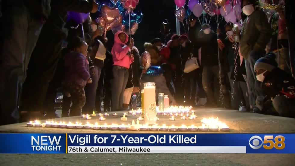 'She had a bright future:' Community comes together to remember 7-year-old killed in hit-and-run
