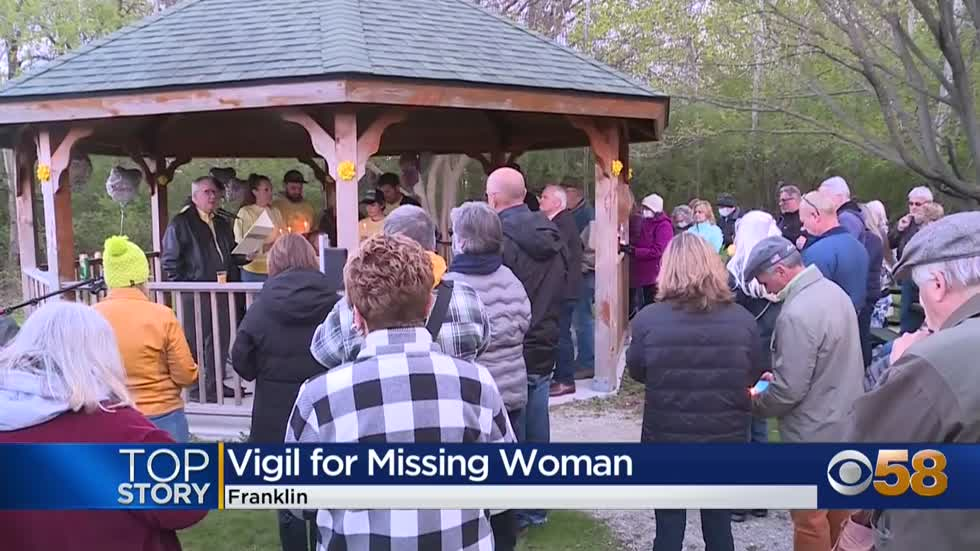 Community gathers to pray for missing Franklin woman's return