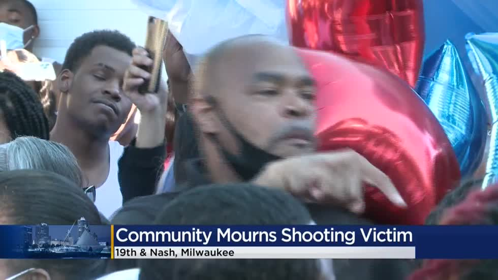 Community mourns shooting victim, asks those with information to come forward