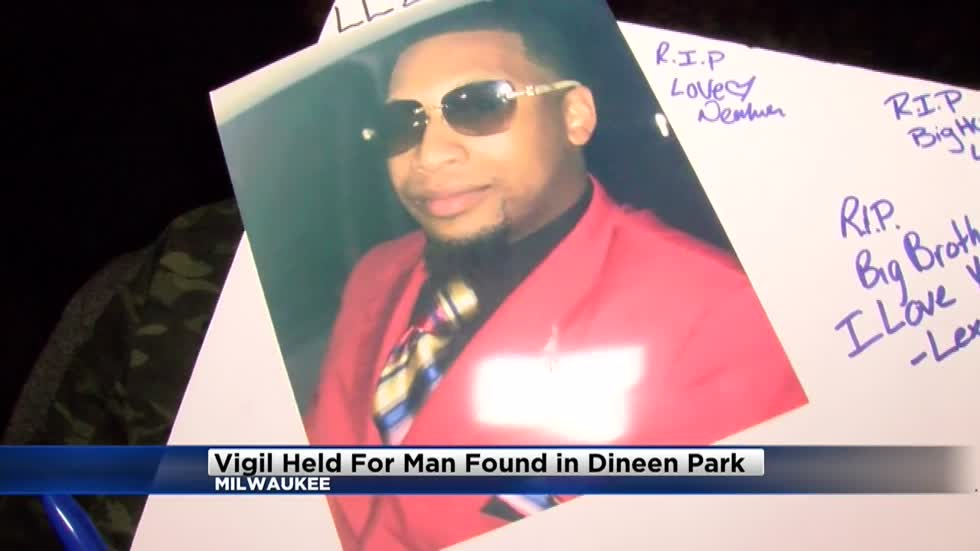 Candlelight vigil held for 23-year-old victim found dead at Dineen Park