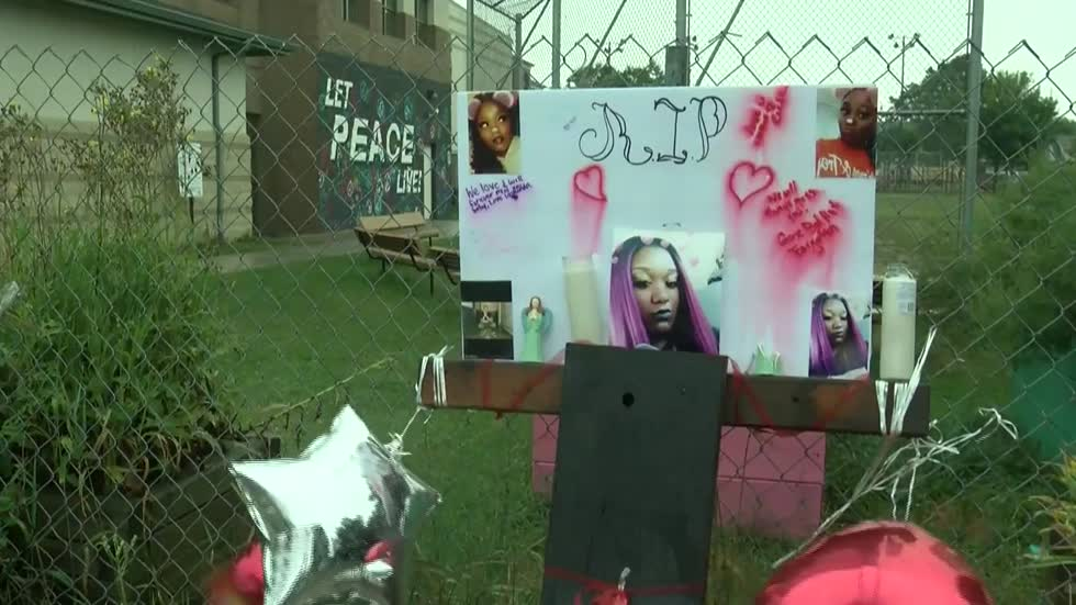 'The community is hurting:' Loved ones hold vigil for 20-year-old killed at Moody Park