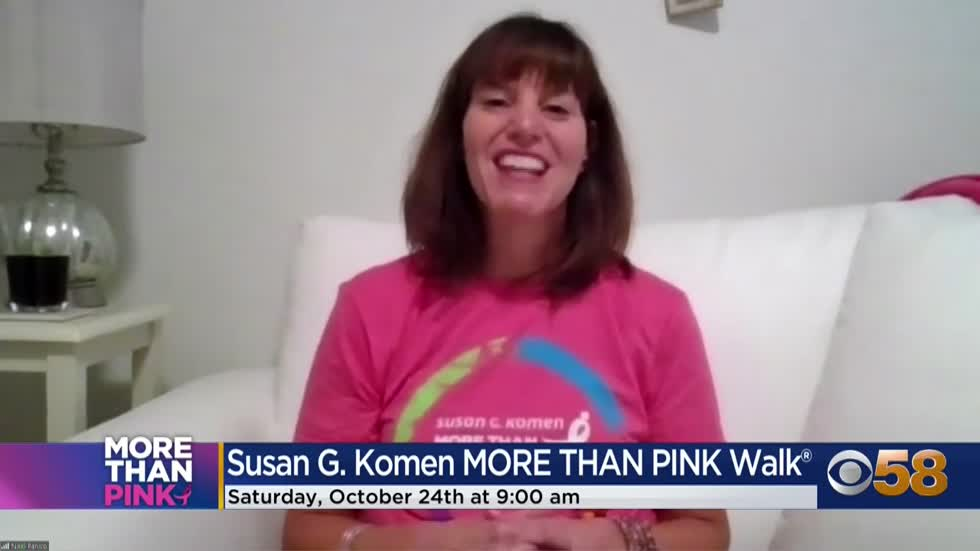 Susan G. Komen Wisconsin's 'More Than Pink' walk goes virtual