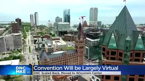2020 DNC pulled from Fiserv Forum, will move toward mostly virtual event