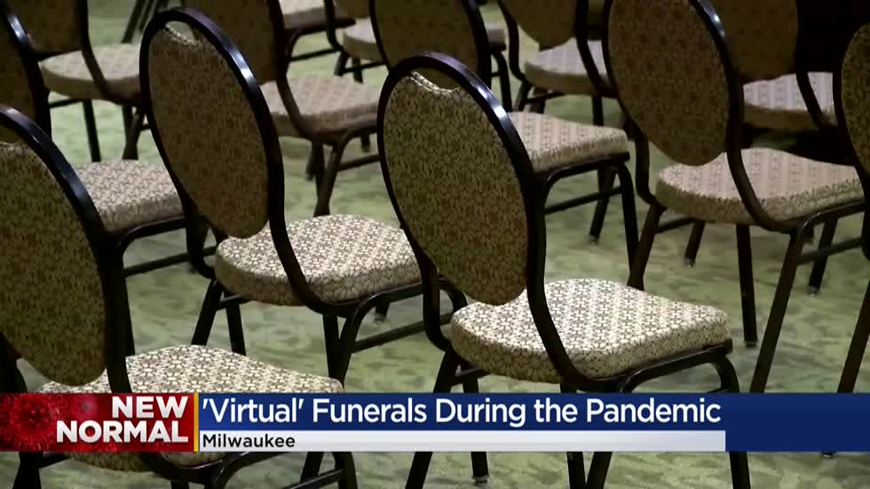 Funeral homes offer virtual features to help loved ones mourn during pandemic