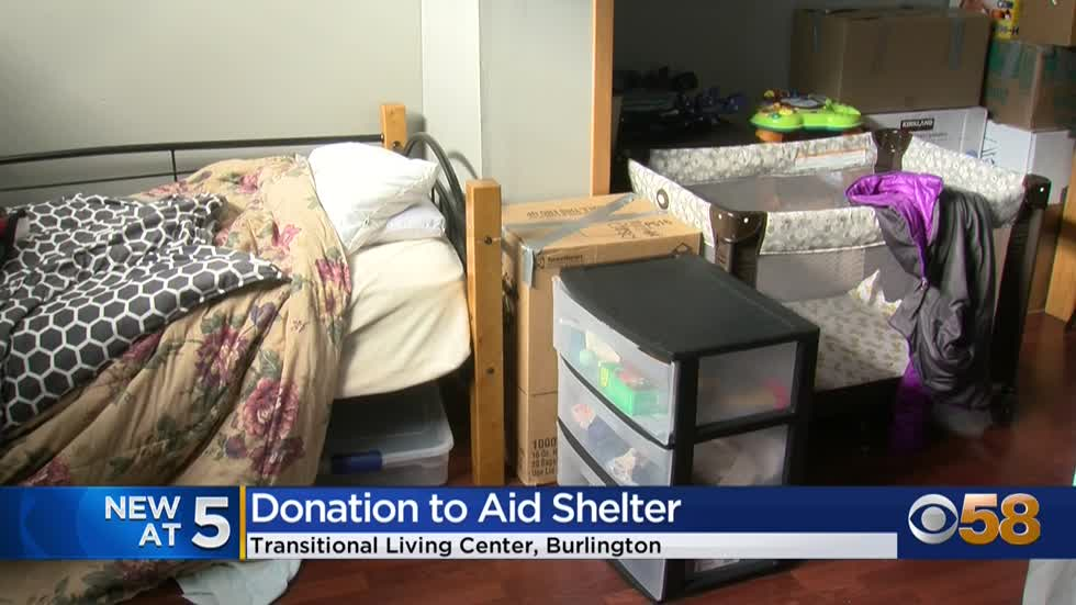 Racine County homeless shelter receives $5K donation
