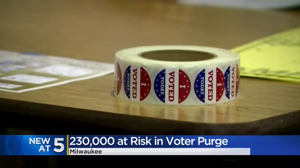 Wisconsin lawmakers among thousands flagged to be purged from voter rolls