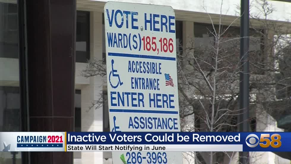 Inactive voters could be removed from Wisconsin's voter rolls