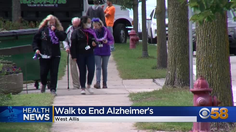 Walk in West Allis raises awareness for Alzheimer's disease