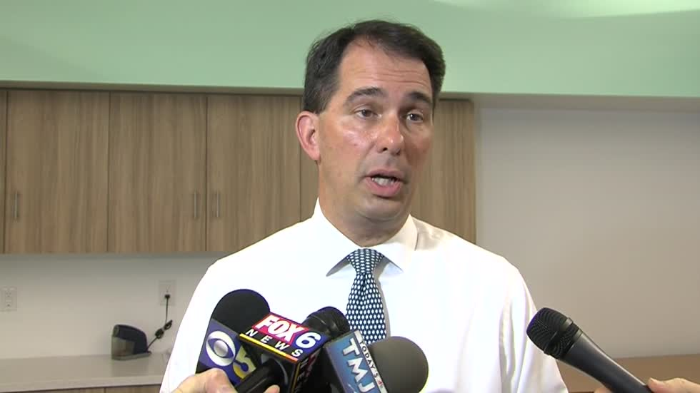 Gov. Walker celebrates new charter school on Milwaukee's south side