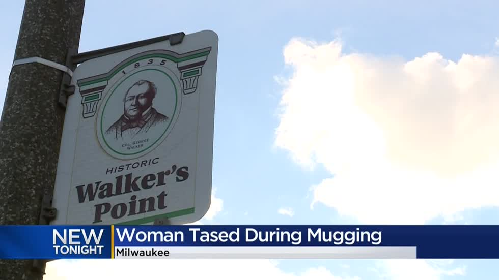 Woman tased during mugging in Walker's Point neighborhood