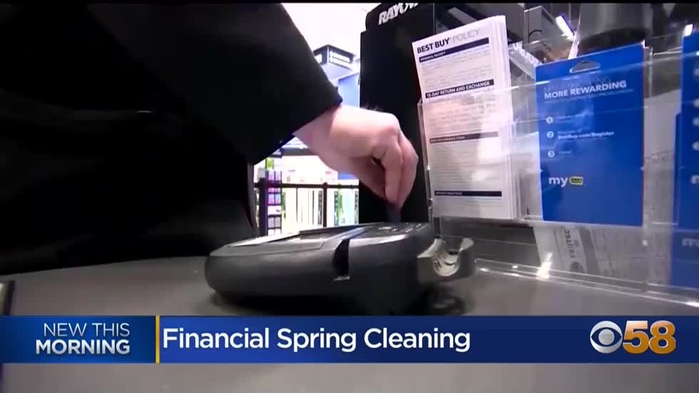 Spring cleaning your wallet: review monthly expenses, budget