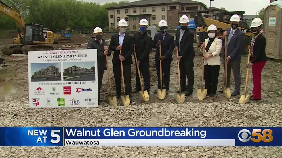 Groundbreaking ceremony held for new affordable housing development...