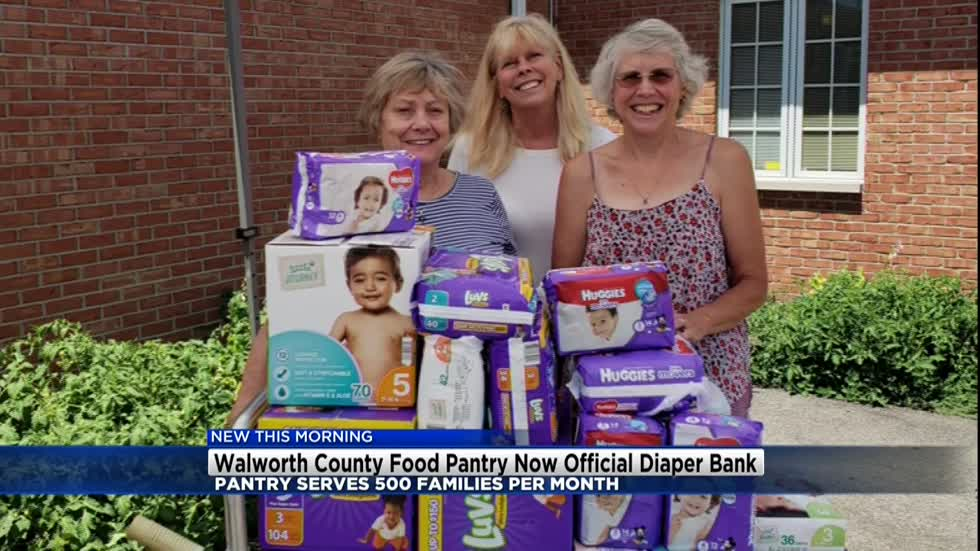 Walworth County Food Pantry joins National Diaper Bank Network
