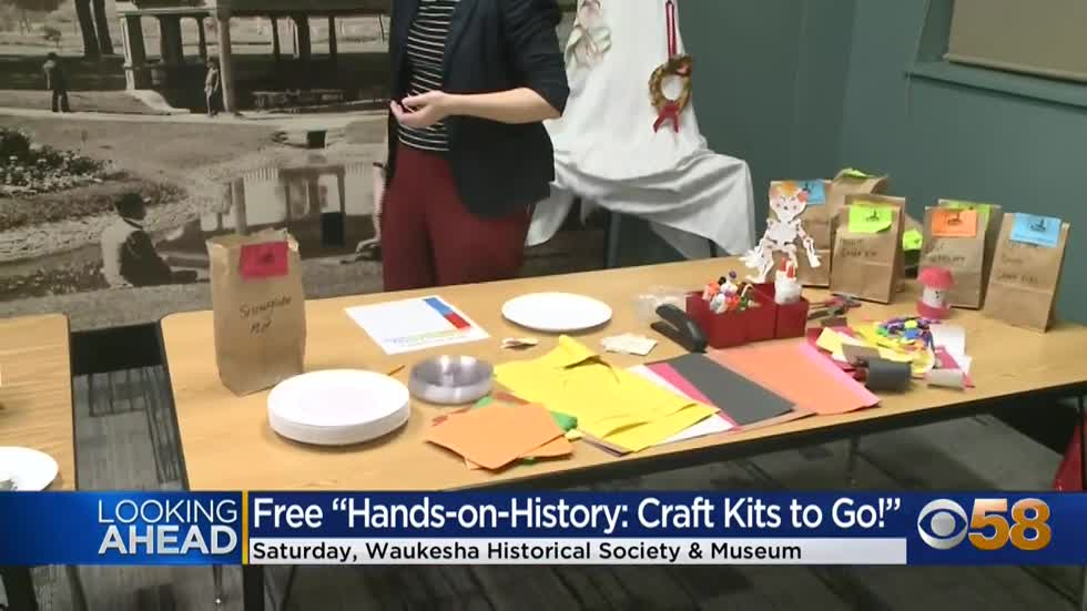 "The Waukesha County Museum lets you get ""Christmas Crafty"" with its free to-go kits"