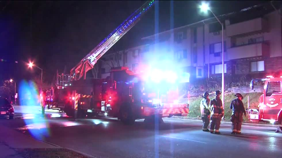 Red Cross helping displaced residents after Waukesha apartment fire