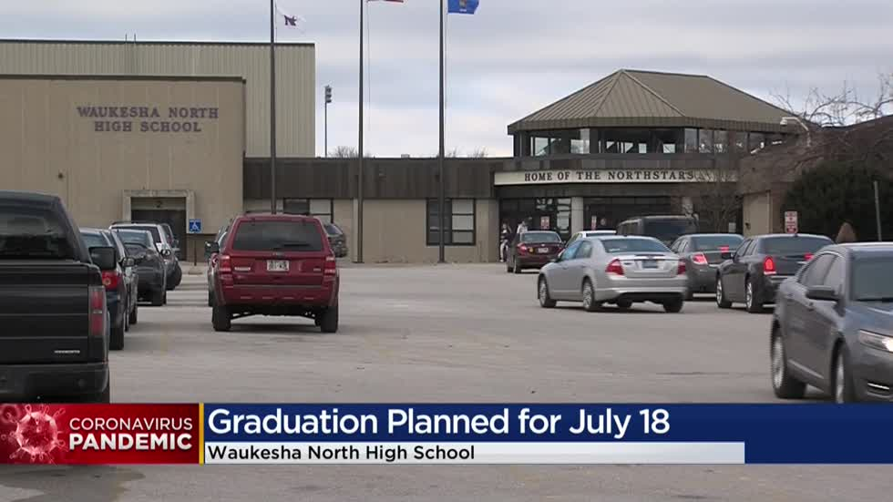 Waukesha North High School to hold in-person graduation ceremony in July