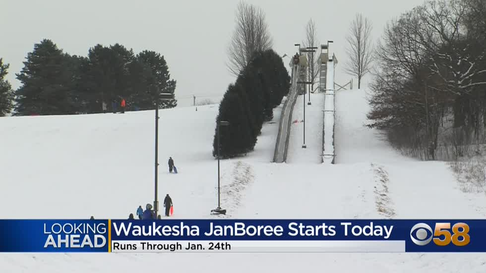 Wintertime in Waukesha: Annual JanBoree goes through the weekend