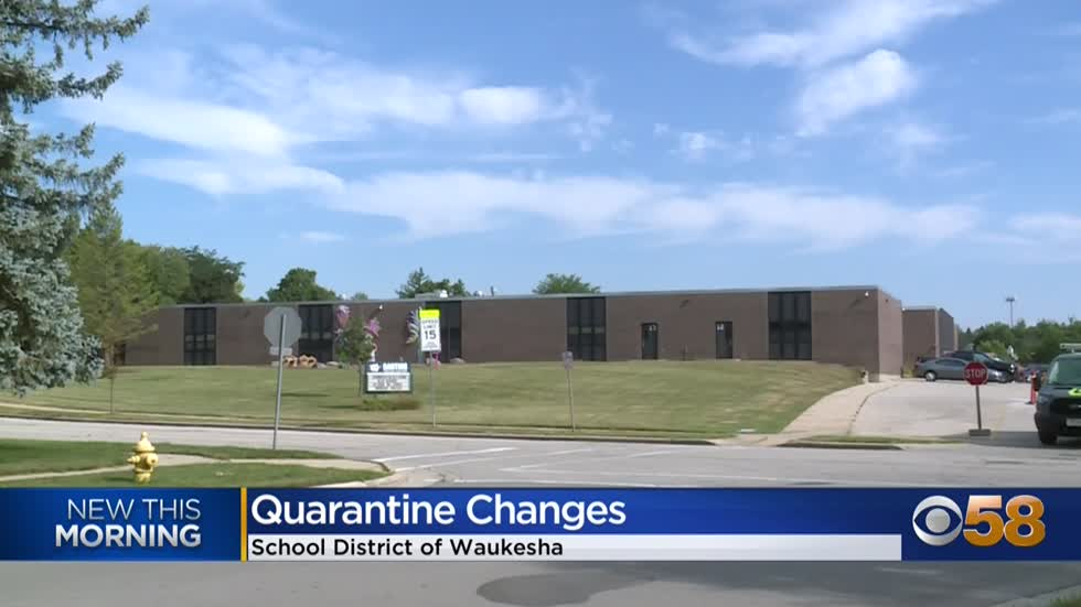Waukesha School Board votes to end COVID-19 quarantine of students...