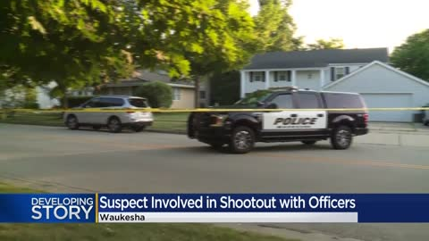 Waukesha police officer involved in shooting near Pebble Valley...