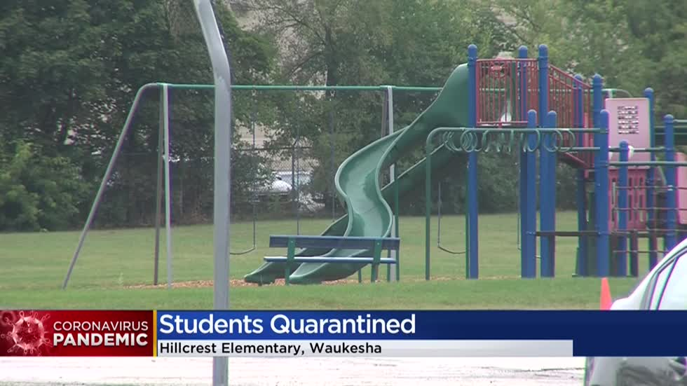 'New territory for all of us': 35 Waukesha third graders in quarantine after positive case at elementary school