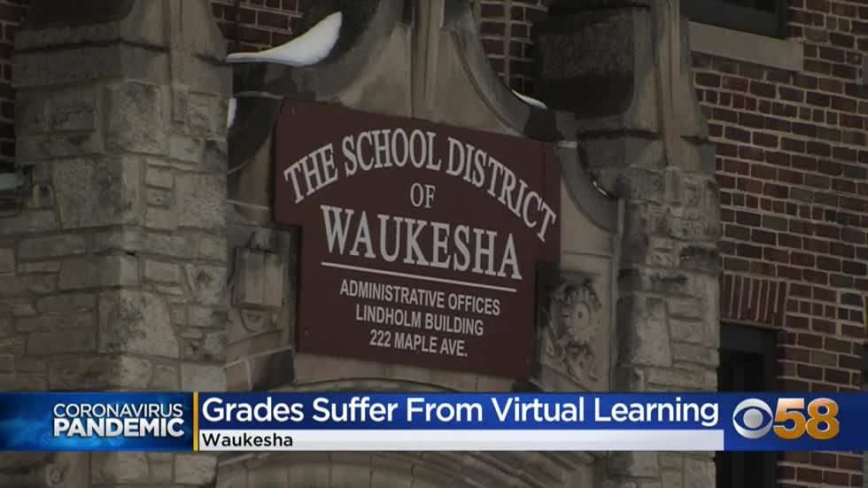 Failing grades in Waukesha high schools spike during remote learning