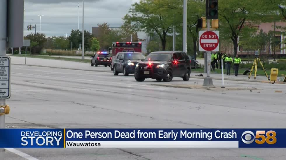 MCMEO responds to fatal crash near Mayfair Rd. and North Ave. in Wauwatosa