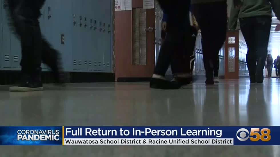 Wauwatosa, Racine school districts ramp up in-person instruction