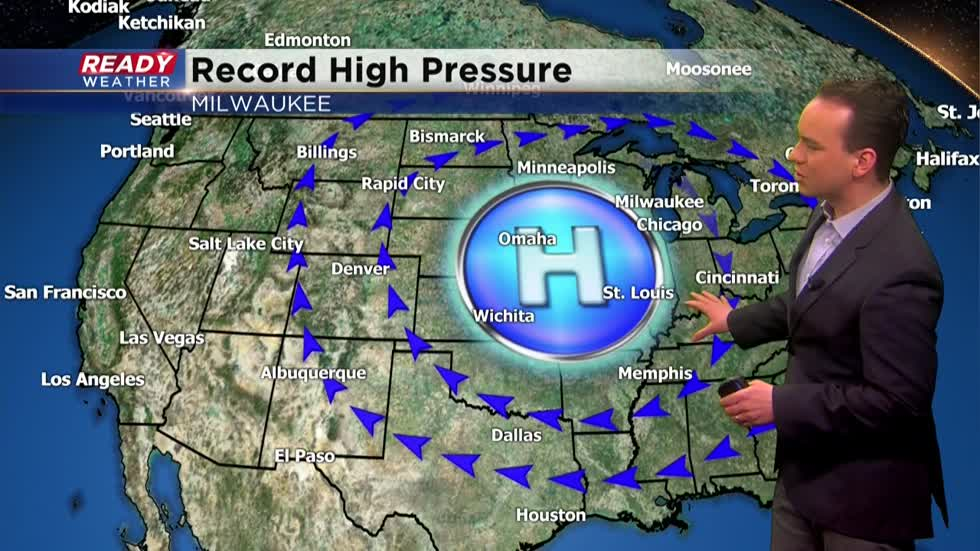 Weather Whys: Record high pressure in Milwaukee