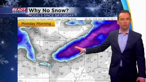 Weather Whys: Why did the snow forecast change so drastically?