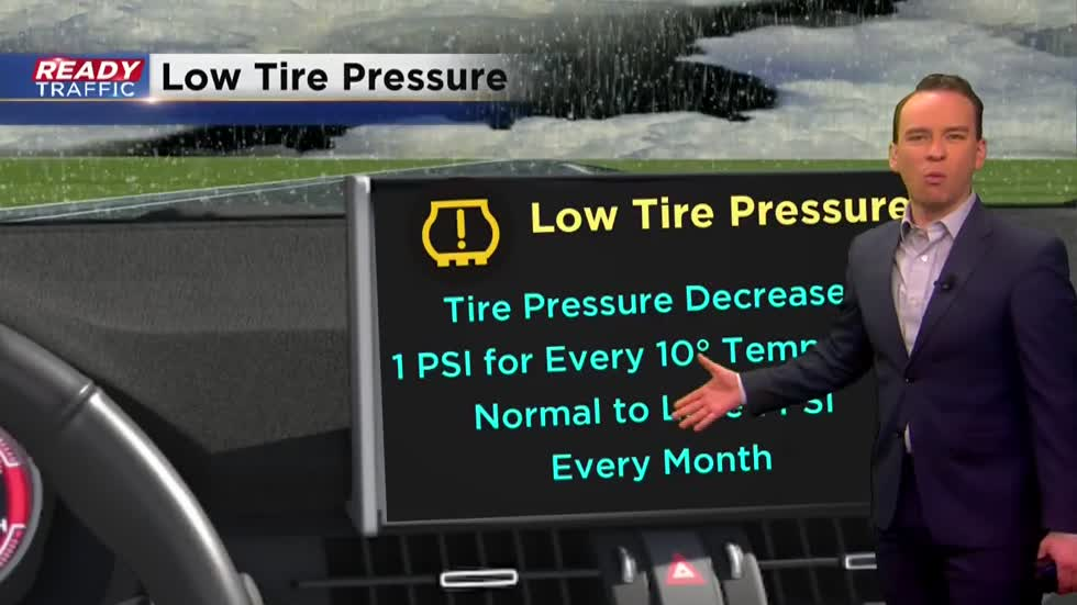 Weather Whys: Tire pressure and cold air