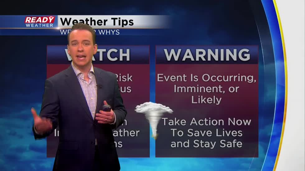 Weather Whys: Differences between watch and warning during severe weather