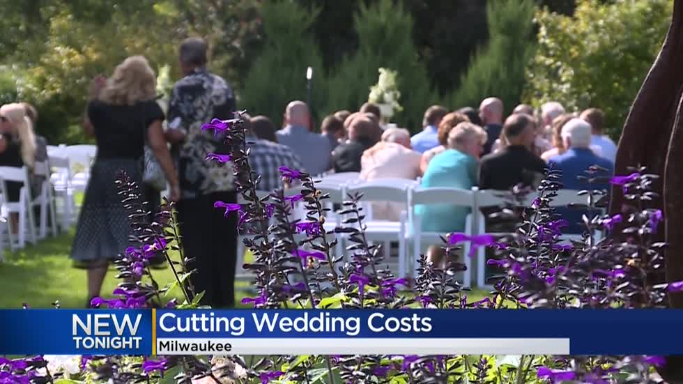 How Milwaukee couples are cutting down wedding costs