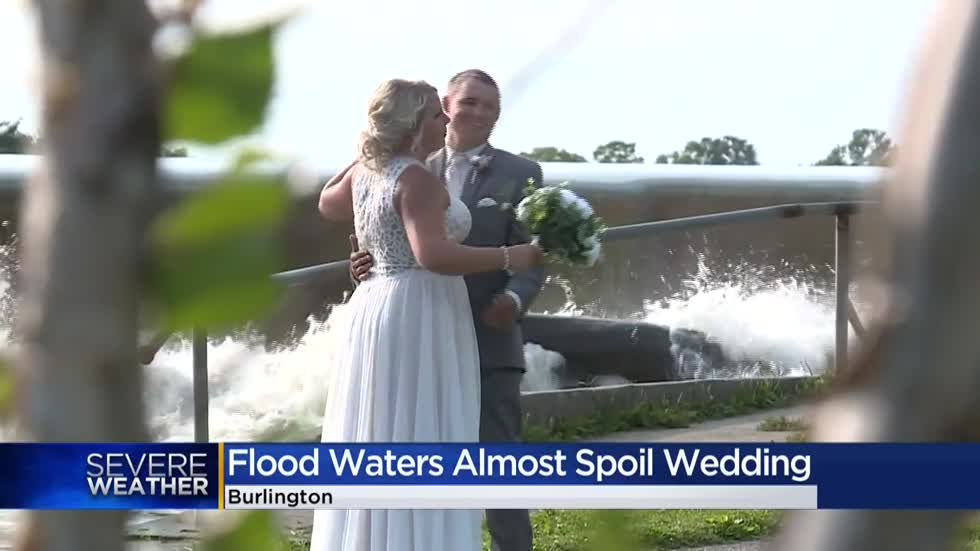 Close call for brides and grooms as flood waters nearly spoil weddings in Echo Park