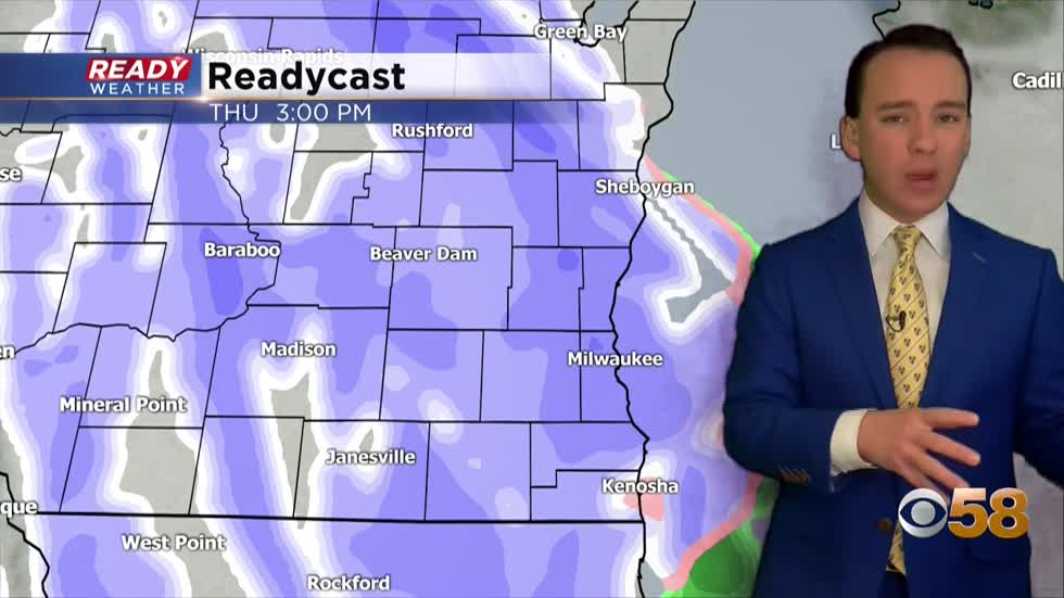 Long but light snow event starts Thursday afternoon