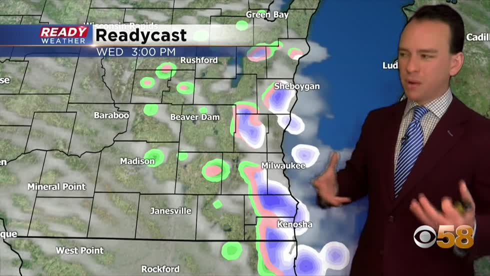 Bursts of Snow For Wednesday Afternoon