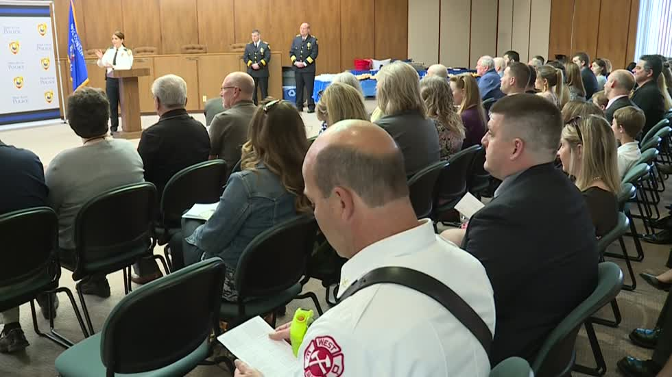 West Allis Police Department Recognition Awards Ceremony held