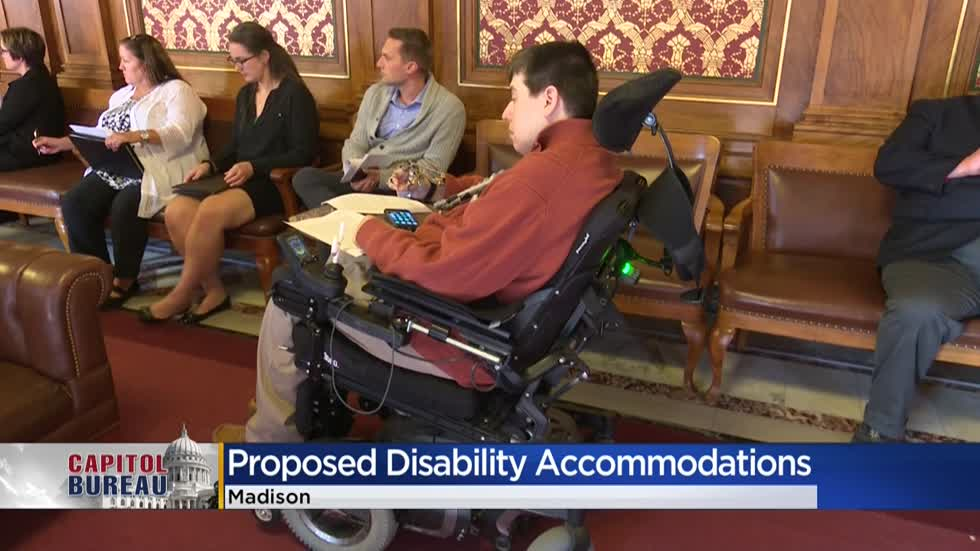 Wisconsin GOP to let disabled Democratic lawmaker call in