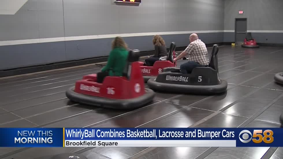 Give it a whirl! Whirlyball in Brookfield