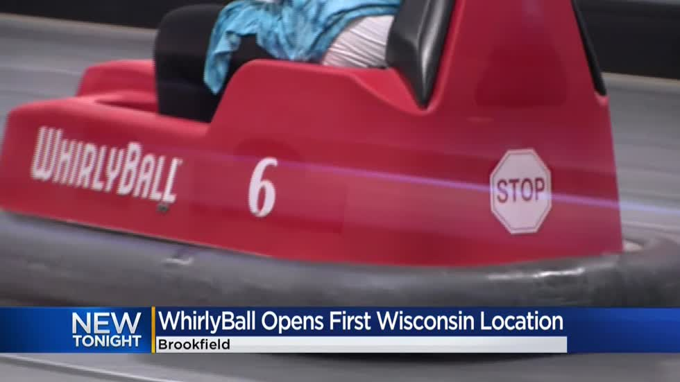 WhirlyBall now open at Brookfield Square Mall