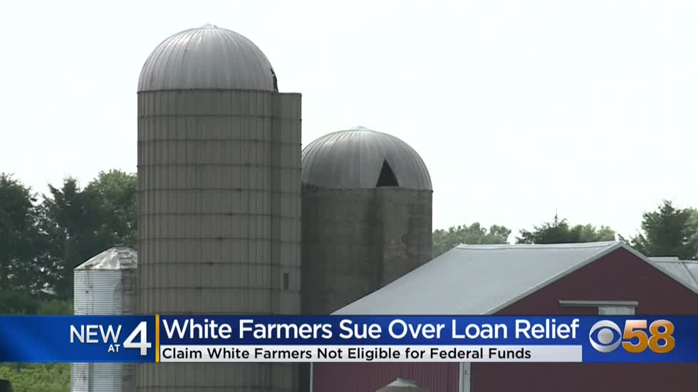 White farmers sue Biden administration over relief program for minority farmers